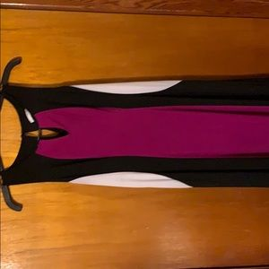 Long fitting maxi dress